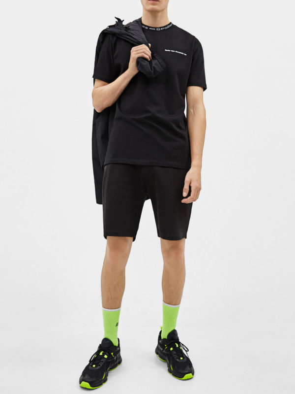 T-shirt with tie-dye print