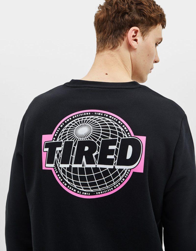 Cut and sew sweatshirt